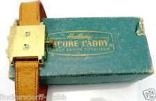 G O L F Healthways SCORE Caddy Golf Score totalizer - 1950er anni