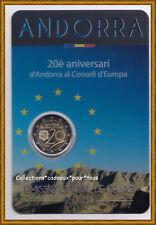 ANDORRE 2014 - 2 Euro commémorative Conseil de l'Europe