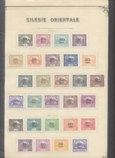 Czechoslovakia 1920 - MH Stamps on Collector Page D86