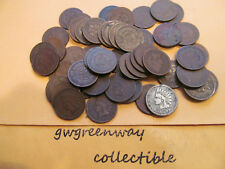 Indian Head Cent Roll * 50 Coin Lot Mixed Date Penny Rare US Coin 1 ROLL & TUB