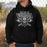 See you in VALHALLA Odin Thor Vikings Wikinger Sweater Kapuzenpullover Hoodie