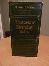 House of nesbet Vintage Doll-Bambola Vittoriana COMPLEANNO in SCATOLA-BAMBOLA è in ottime condizioni.
