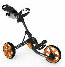 Clicgear Model 3.5+ Golf Push Cart Charcoal/Orange