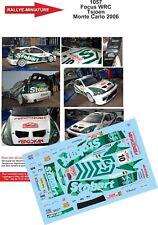 DECALS 1/24 REF 1057 FOCUS WRC PIETER TSJOEN RALLYE MONTE CARLO 2006 RALLY