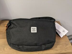 Herschel Sixteen 5 Litre Bum Bag Hip Pack Fanny Pack Black New With Tag