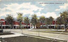 C83/ Farmville Virginia Va Postcard 1915 State Normal School Building