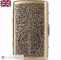 High Quality Vintage Style Constantinople Brass Cigarette Case Small