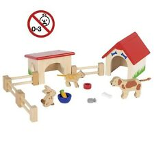 Spielzeug Holzspielzeug 30004 ohne Autos BECK Tankstelle mit Hebebühne