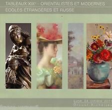 Catalogue Vente Tableau Moderne Russe HUGARD RAZUMOV PECHAUBES PINCEMIN