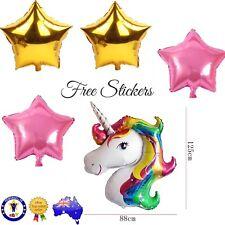 MY LITTE PONY UNICORN FOIL BALLOON Pack Birthday Party Supplies Twilight Sparkle