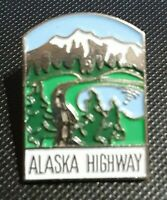 ALASKA HIGHWAY Collector Pin Enamel Travel Pin