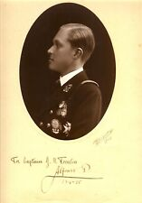 SIGNED PHOTOGRAPH OF ALFONSO DE BOURBON PRINCE OF ASTURIAS SON OF KING OF SPAIN