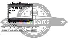 MITSUBISHI TRITON MK 3.0 ltr V6 PETROL 10/1996-6/2006 AUTO/MANUAL RADIATOR 6G72
