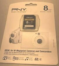 New in Package *PNY Optima 8GB* SD Card, Ultra High-Speed, High Capacity, Flash