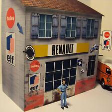 Kit Garage Elf Alpine Renault 1/43°
