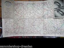 12780 ADAC GLATZ 41 Straßenkarte von Deutschland im Maßstab 1 : 200000 in Farbe