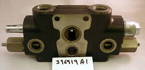 Genuine Case Digger Bucket Cylinder Hydraulic Valve Section, Case CE 396919A1