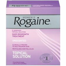 Women's Rogaine Topical Solution Hair Regrowth Treatment 3 Months Exp 2019