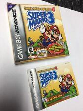 Gameboy Advance Super Mario Advance 4 Super Mario Bros 3- Box & Manual Only