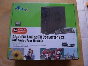Airlink 101 Digital to Analog TV Converter Box