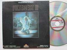 LD LaserDisc  POLTERGEIST III  3 MGM 1986   US