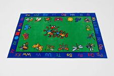 Educational Rug For Schools - Day Care - Kids Room. 8' x 10' KRITTERS .