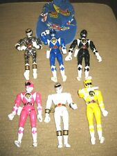 "Mighty Morphin POWER RANGERS Bandai 1993 94 95 action figures lot large 8"" dolls"