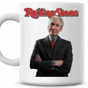 ROLLING STONES-CHARLIE WATTS- Personalised (with any name) Mug - Gift Mug