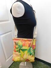 Maurizio Taiuti  Italy Floral Leather Crossbody Shoulder Bag