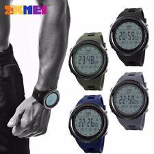 SKMEI Mens LED Military Digital Date Watch Alarm Countdown Waterproof Wristwatch