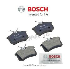 For Audi A3 Volkswagen Beetle Rear Left & Right Disc Brake Pad Set Bosch QC
