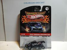 "Hot Wheels Drag Strip Demons Black ""Snake"" Prudhomme's Black Snake Cuda"