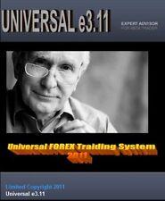 UNIVERSAL e3.11 1200% Profit,  Forex Trading System - EA robot (Expert Advisor)