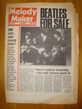 MELODY MAKER 1977 MAY 7 BEATLES FOR SALE JOHN LENNON
