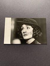 ORIGINAL HARRIET WALTER STAR WARS FILM ACTRESS SIGNED PHOTOGRAPH/CARD