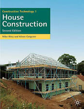 Construction Technology 1: House Construction (Building and Surveying Series), M