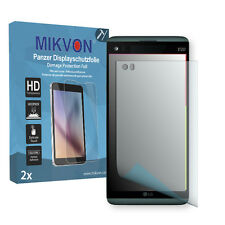 2x Mikvon Armor Screen Protector for LG V20 Retail Package with accessories