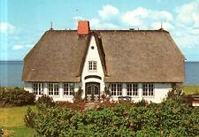 Morsum auf Sylt  -  Schönes Friesenhaus an der Küste mit Rosengarten  - 1980