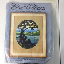 Vintage Elsa Williams Creative Canvaswork Needlepoint Kit
