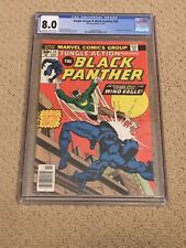 Jungle Action 24 CGC 8.0 OW/White Pages (1st app Windeagle)- Black Panther!!