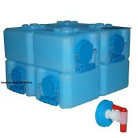 WaterBrick Storage Container (3.5 gallon, 4 pk.) FAST Shipping - NEW ITEM