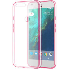 "Clr TPU Candy Cover Carrying Case GOOGLE Verizon Pixel Phone HTC Nexus S1 (5.0"")"