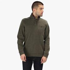 Regatta Mens Lochran Fleece Herringbone Half Zip Walking Jumper Sweater Pullover