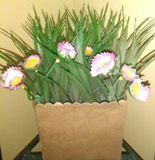 per Interni ed Esterni pianta Artificiale in Legno di bosso ART TO REAL Decorazione per Feste di Matrimonio 20 inch Ball with White Flower