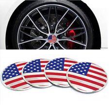 4 Stück USA Amerika Felgensticker Nabendeckel Aufkleber America Fahne Flagge