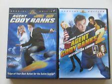Agent Cody Banks 1 & 2 Special Edition DVDs Frankie Muniz Hilary Duff