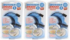 Wonder Snake Drain Hair Clog Remover Professional Device As Seen on Tv - 3 Kits