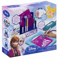 DISNEY FROZEN SPRAY PAINT AIRBRUSH STUDIO ART CRAFT GIRLS PLAY SET TOY GIFT SET