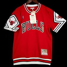 100% Authentic Bulls Mitchell & Ness Bulls Shooting Shirt Size M 40 - jordan