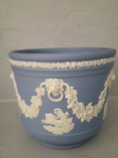Wedgewood Jasperware Blue Urn